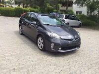 TOYOTA PRIUS 2012 SPECIAL MODEL LEFT HAND DRIVE GERMAN REGISTER TWO TONE LEATHER HEATED SEAT CLEAN