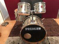 Premier drums shell pack