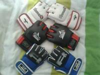 MMA profesional fighters gloves