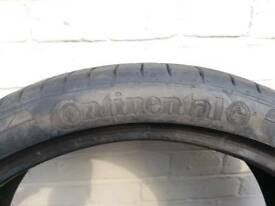 Continental contisportcontact 5p 225 35 19 8mm very good like new tred