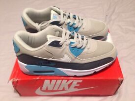 Nike mens' trainers, Air Max 90, 8.5, brand new