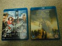 Troy-Directors Cut & X Men-The Last Stand Blu Rays