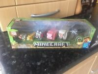 Mine craft figures in box