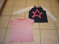 Girls Pyjama Tops
