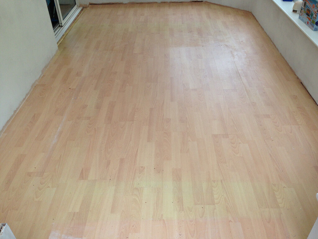 Used Easy To Fit Clic Laminate Flooring
