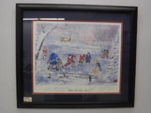 When We Were Six Original Six Hockey Print (Signed) - We Buy and Sell Hockey at Cash Pawn! - 116896 - JY122405
