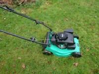 Powerbase 40cm push petrol mower
