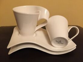 Villeroy & Boch New Wave Caffe Mug and Saucer
