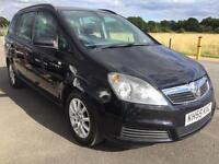 BARGAIN! Vauxhall zafira 7 seater, long MOT ready to go