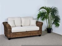 3 Seater Rattan Kingston Sofa