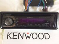 KENWOOD CD-RECEIVER WITH USB INTERFACE MODEL KDC-BT41U MADE FOR iPhone/iPod