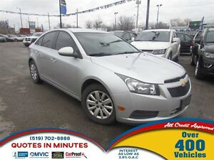 2011 Chevrolet Cruze LT Turbo * CAR LOANS FOR ALL CREDIT
