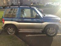 Mitsubishi Shogun Pinin Vivo II MoT'd great wee Jeep