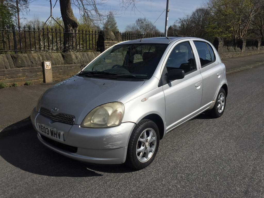 2003 toyota yaris 1 4 d4d cdx 5dr silver in bradford west yorkshire gumtree. Black Bedroom Furniture Sets. Home Design Ideas