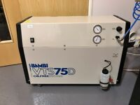 Bambi VTS75D low noise air compressor - internal dryer and 24l resevoir