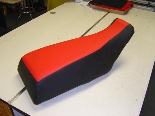 Honda ATC 200X 1984 - 1986 Red Black Seat Cover #hcs306c299