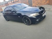 Bmw 318d M Sport Business Edition iDrive Bluetooth Phone Kit Deflectors Leathers Tinted PX Welcome