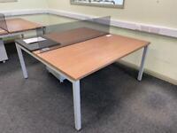 2 Person Bench Desk