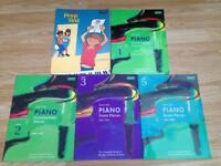 Selection of Piano Practice Books