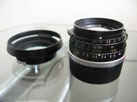 Leitz Summilux 35mm f/1.4 Lens for Leica M Mount Rangefinder Cameras - Pre-ASPH
