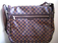 New Louis Vuitton Spencer Messenger/Satchel Bag
