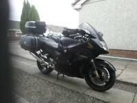 Honda CBR1100XX Blackbird Touring package.