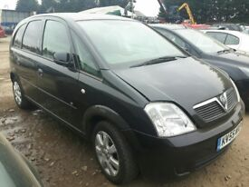 2005 VAUXHALL MERIVA BREEZE 16V TWINPORT NOW BREAKING FOR PARTS