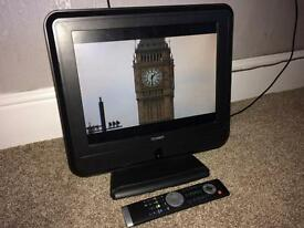 "Technika 15"" Freeview Tv with remote"