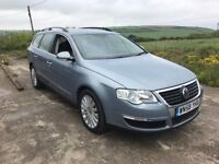 VOLKSWAGEN PASSAT HIGHLINE 2.0 TDI 5DR ESTATE GREY 2008 DIESEL