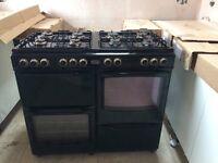 New World gas range cooker