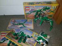 Lego create 3 in 1 dinosaur