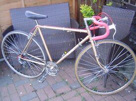 vintage ernie clements mens road bike