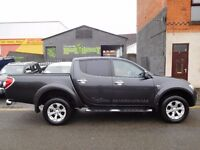 Finance Available & NO VAT! Mitsubishi L200 Barbarian 4x4 double