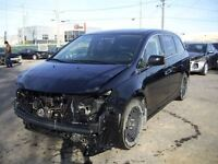 2013 Honda Odyssey TOURING V6 8 PASSAGERS CUIR GR ELECT SIEGE CH