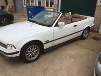 Breaking BMW e36 convertible 325 m50 manifold tan leather sport interior fully working electric roof