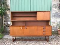 Portwood Retro Teak Sideboard, mid century. Delivery possible.