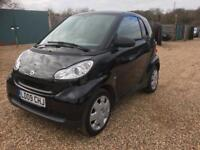 Smart Fortwo pure 61 mhd auto hpi clear- cheap insurance- part exchange welcome