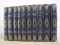 10 Hardback Books