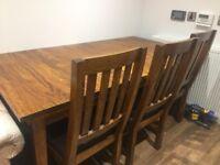 John Lewis extendible Dining Table