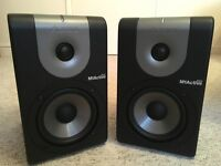 Pair of Alesis M1 Active 520 speakers - like new