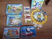 Thomas and Friends Puzzle and Thomas board game