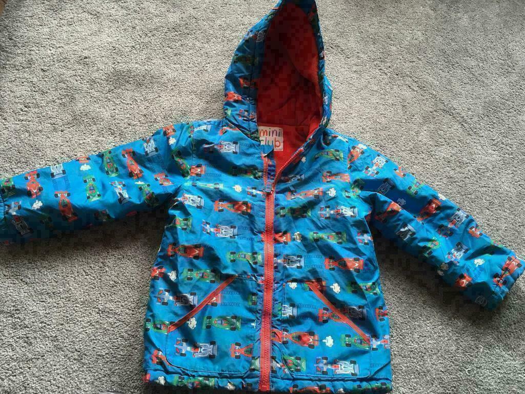 0d3728300fc2 Mini club jacket coat kids boys age 5-6 yrs used good condition £3