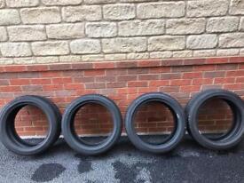 Selling 4 tires Falken 215/45ZR17 85W