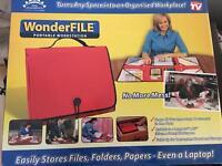 As new, File folder portable workstation