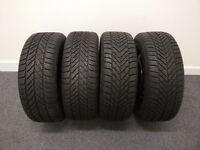 4 New Seasonal tyres with rims '16