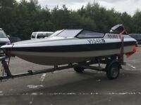 "Fletcher Arrowsport 160 GTO.Mercury ""Tower of Power"" 135hp Outboard,Snipe Break Back Trailer."
