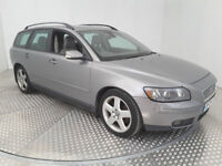2004(04)VOLVO V50 SE 2.0 DIESEL MET SILVER,FULL LEATHER,LONG MOT,SERVICE HISTORY,GREAT VALUE
