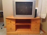 Pine T.V. Stand