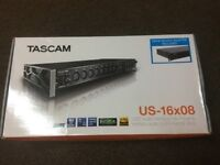 Tascam US-16x08 Audio Interface Brand New!!