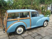 Morris Minor 1000 Traveller Classic fun car Good runner